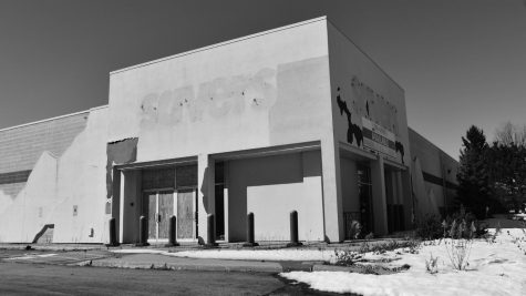 This vacant building is planned to be the new location for the homeless shelter on Madison