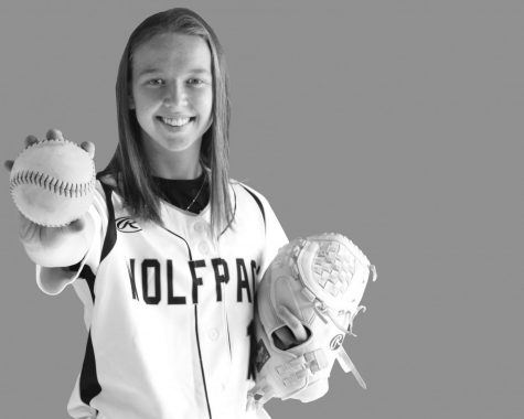 Madison College freshman Maddie Kvatek leads the WolfPack softball team in hitting with a .582 average. She has 32 hits in 55 at bats and has four home runs.