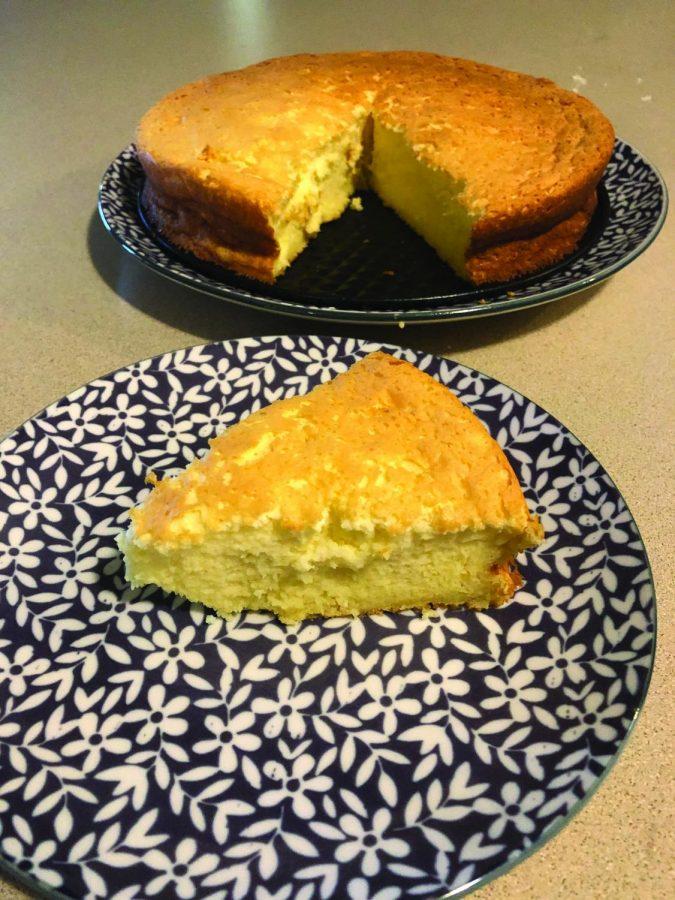 One fluffy cheesecake!