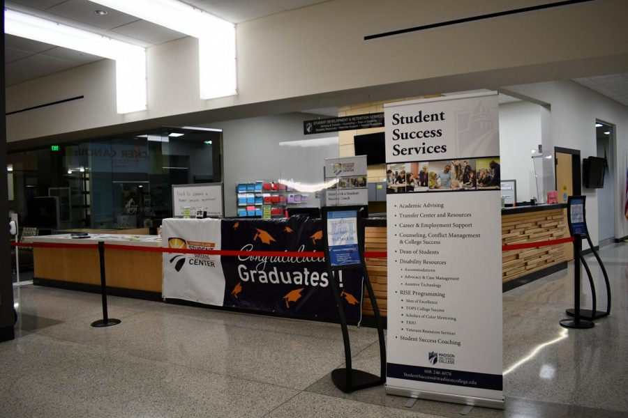 Student Success Services offers counseling for students.
