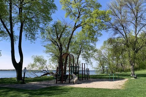 Olbrich Park is one of many in the Madison area.