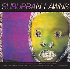 Cover of Suburban Lawns self-titled album.
