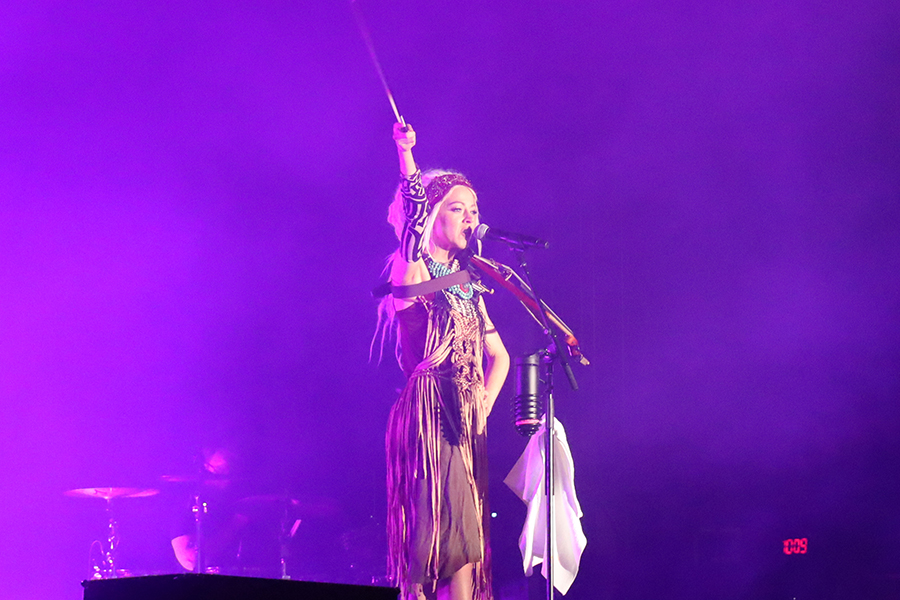 Lindsey Stirling performs at Summerfest.
